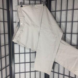 Men NAUTICA Slack Beige Tan Pants SZ 32  Khakis